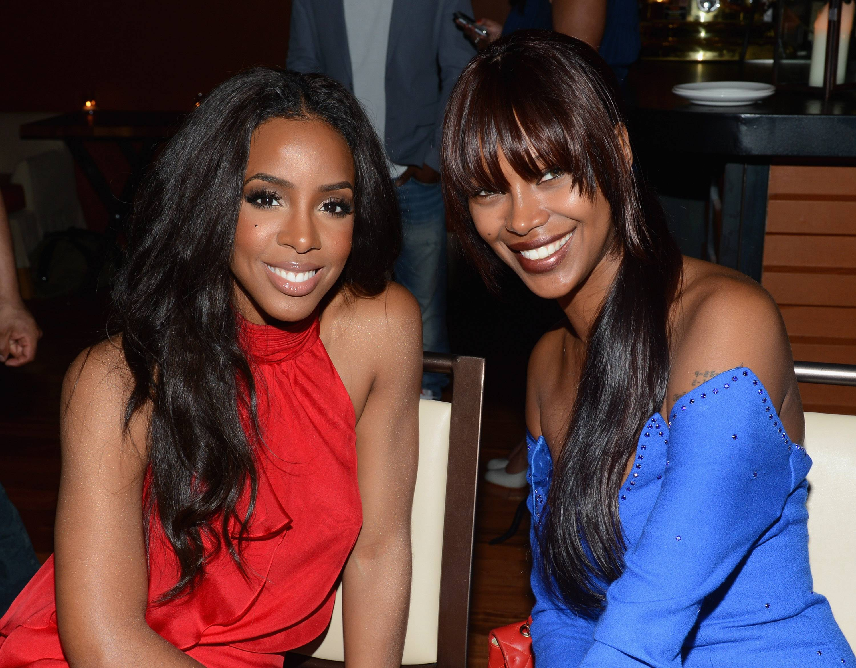 Kelly Rowland and model Jessica White
