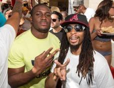 Reggie Bush and Lil Jon