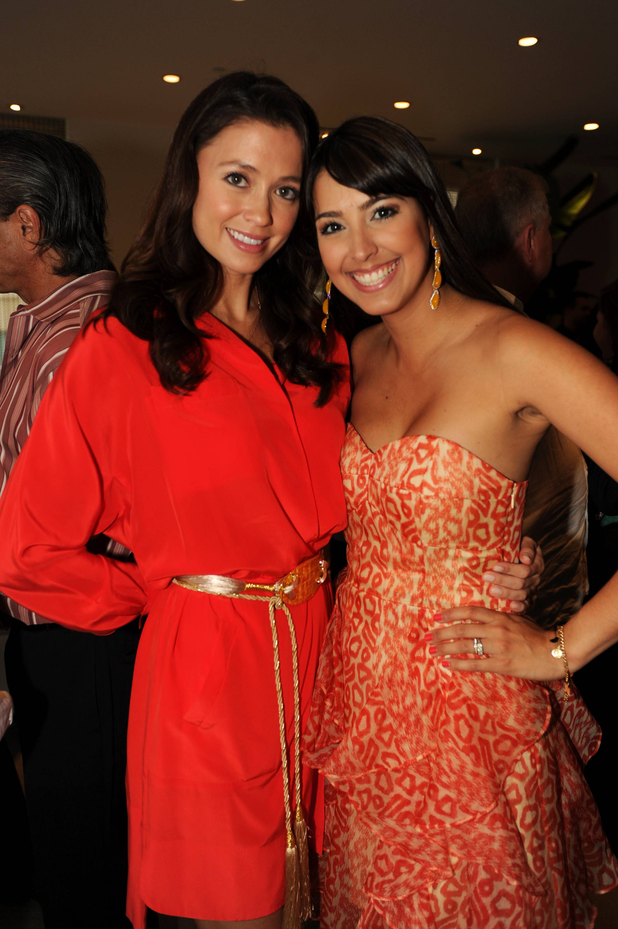 Annie de la Rosa and Alejandra Castillo at the Paramount Bay Grand Opening