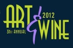 Art and Wine Fest 2012 Logo