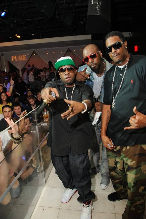 BigBoi of Outkast performs at Pure Nightclub