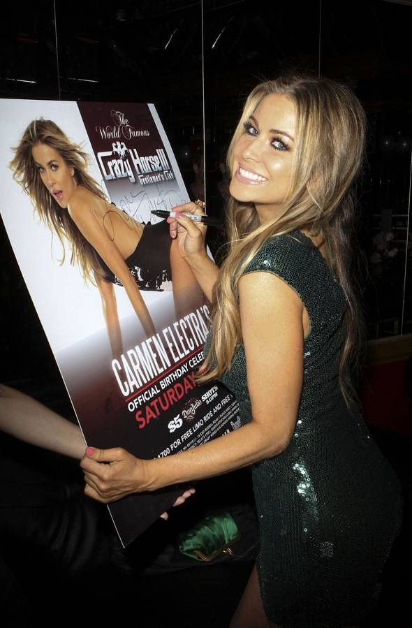 Haute Event: Carmen Electra Celebrates Her 40th Birthday at Crazy Horse III and Posh Boutique Nightclub