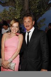 Caroline Scheufele and Sean Penn