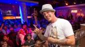 Chris Rene performs at Pure Nightclub.