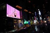 Robert Wilson Video Portraits in Times Square