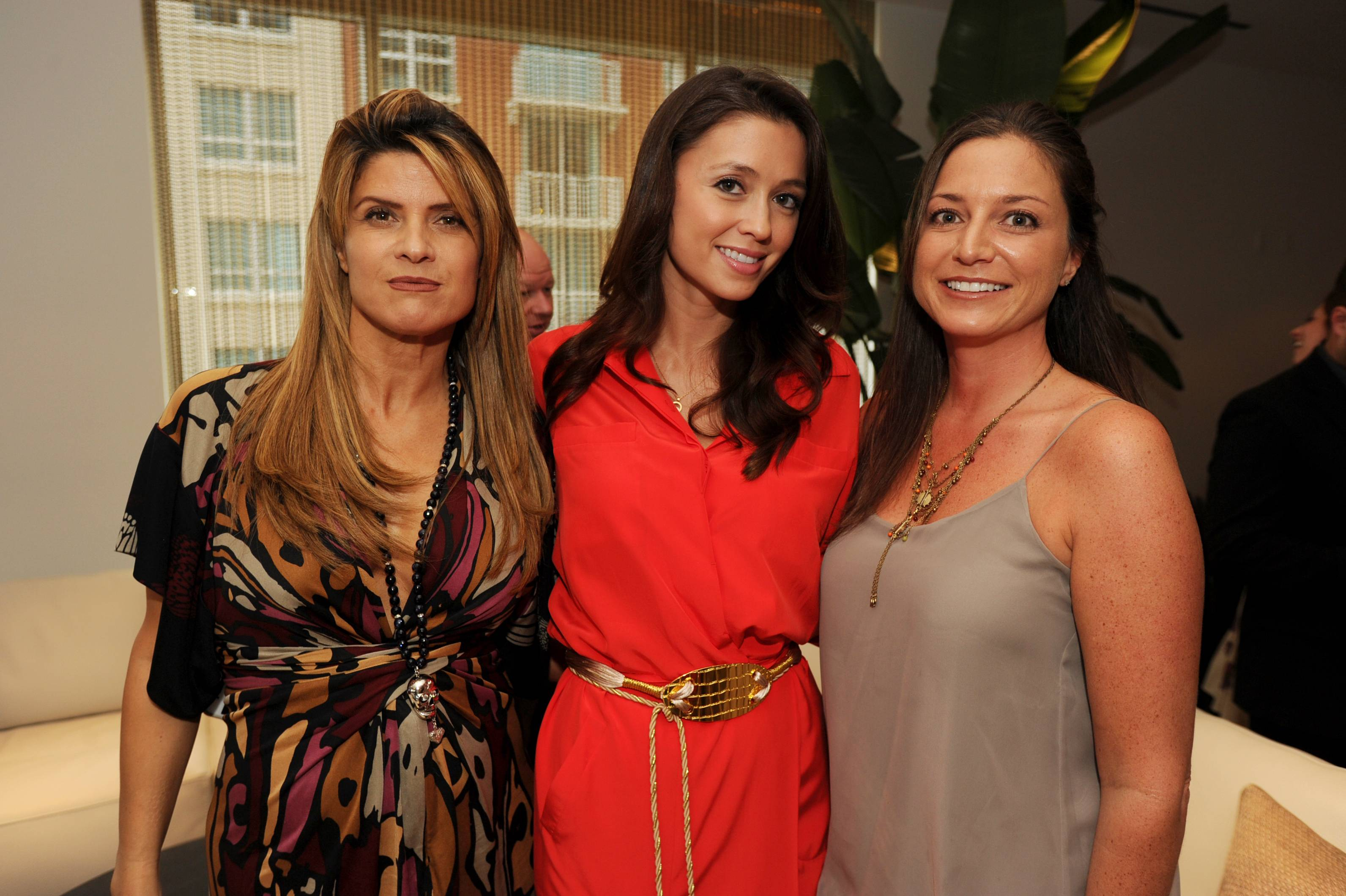 Dora Puig, Annie de la Rosa and Katie Lillis at the Paramount Bay Grand Opening