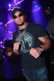Frank Mir parties at his official after-party at Gallery Nightclub at Planet Hollywood Resort.