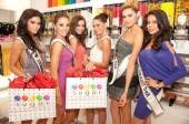 Miss USA contestants have a sweet shopping spree at Sugar Factory.