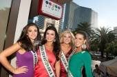Miss USA contestants enjoy an afternoon at Sugar Factory American Brasserie.