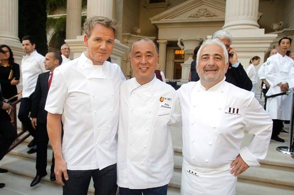 Gordon Ramsay Nobu Guy Savoy