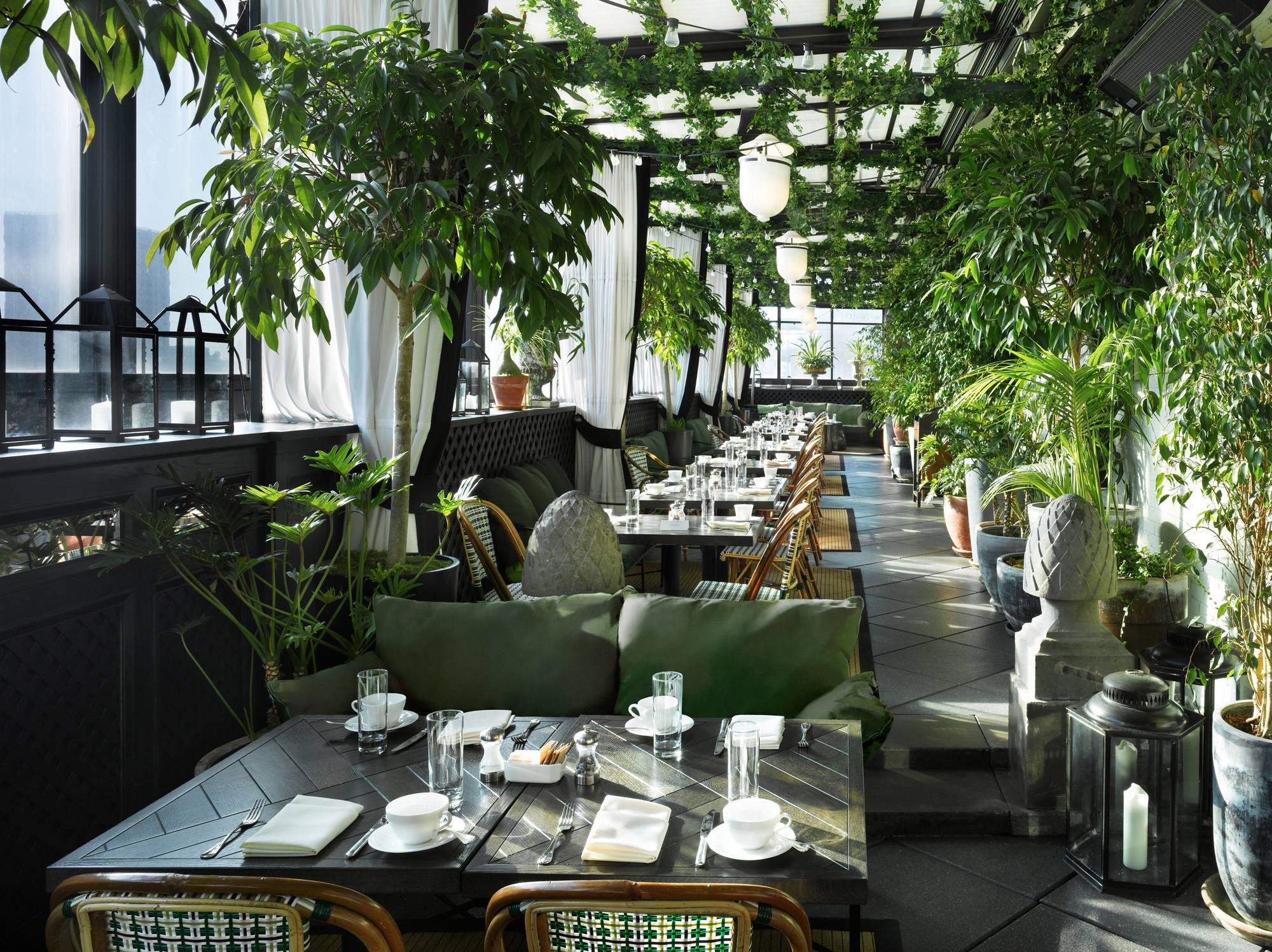 Live La Vie De Bohème at Gramercy Park Hotel's Renovated Terrace This Summer
