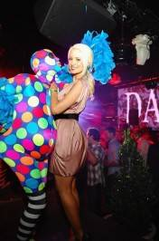 Holly Madison celebrates Memorial Day weekend at Bazaar on the rooftop at Chateau Nightclub & Gardens.