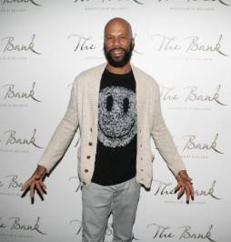 Common on the red carpet at The Bank.