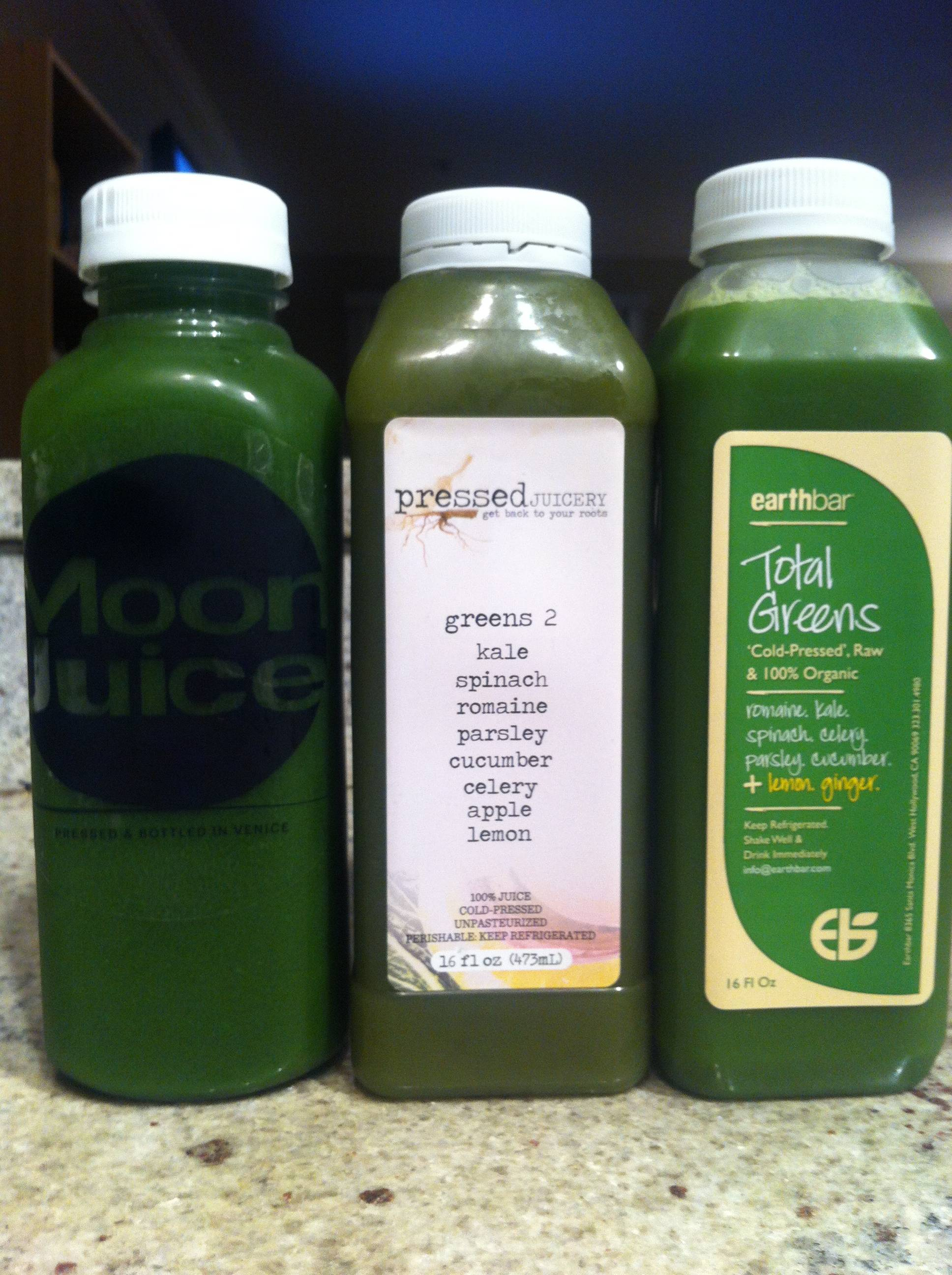 Green Juice Taste Test