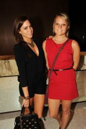 Jessica Motes and Victoria Shaw at the Paramount Bay Grand Opening
