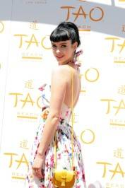 Krysten Ritter at Tao Beach.