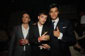 British pop stars The Wanted perform at Lavo Nightclub.