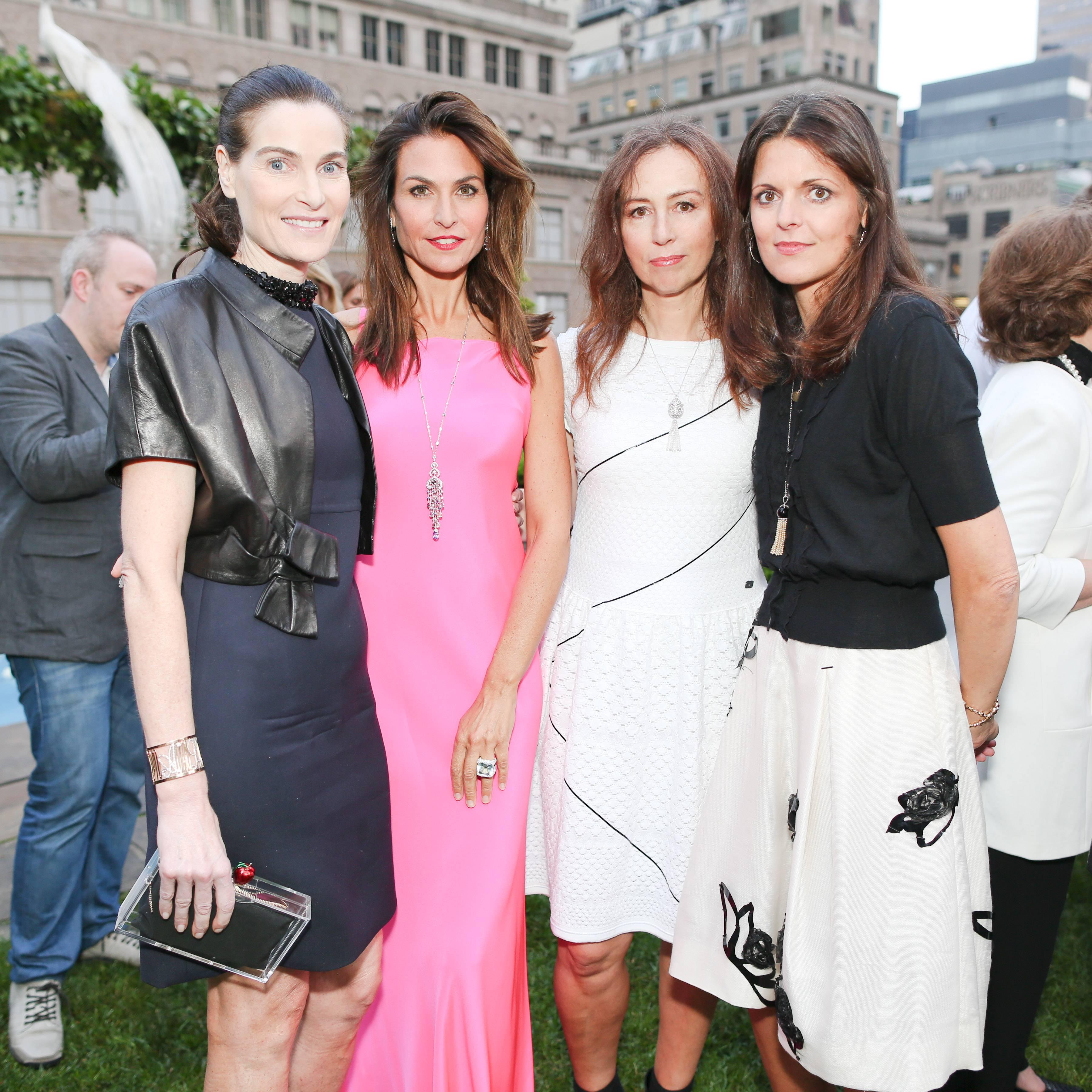 Jennifer Creel, Whitney Fairchild,  Katharina Flohr, Zoe Kimber