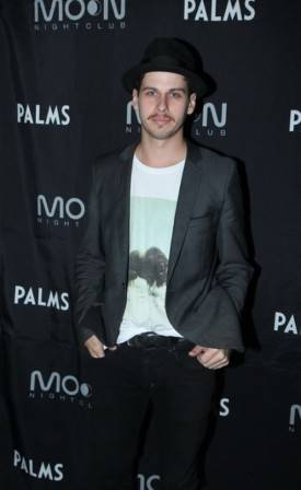 Mark Foster of Foster the People performs at Moon Nightclub