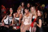 Meagan Good with The Pussycat Dolls at Gallery Nightclub (Photo by Jeff Ragazzo)