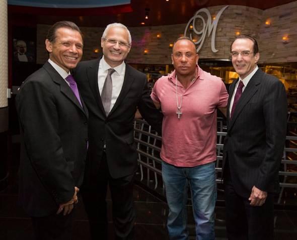 Michael Severino, Gary Selesner, Steve Martorano, Dr. Jeffrey Cummings