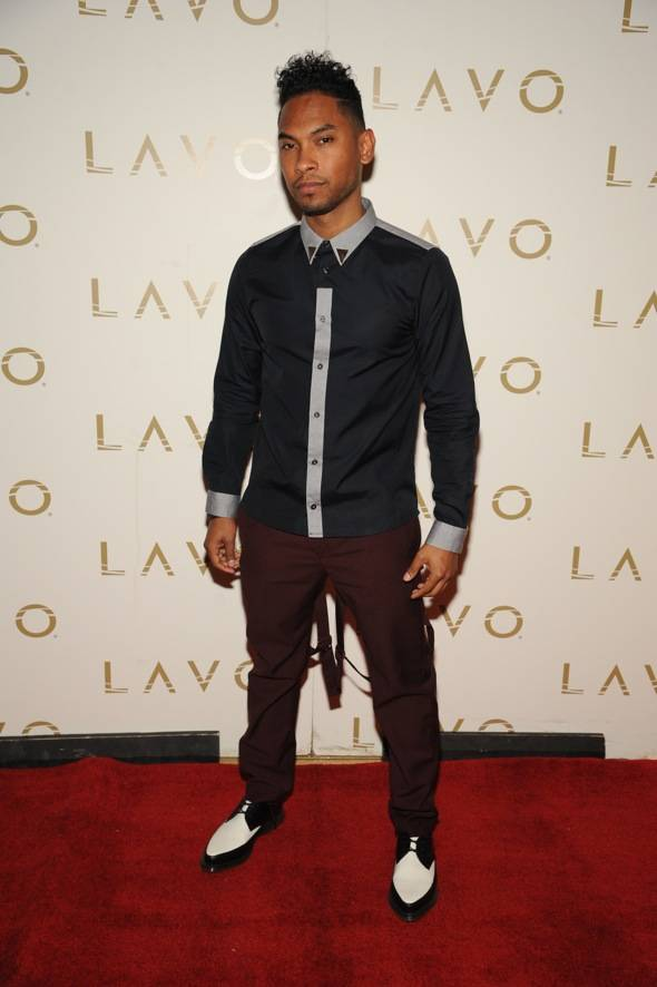 Haute Event: Miguel Hosts a Pre-Billboard Awards Shindig at Lavo