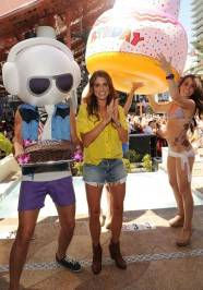 Actress Nikki Reed celebrates her birthday at Marquee.