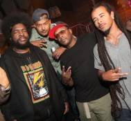 Questlove, MC Skillz, Jazzy Jeff and Chris Kilmore at Moon Nightclub.