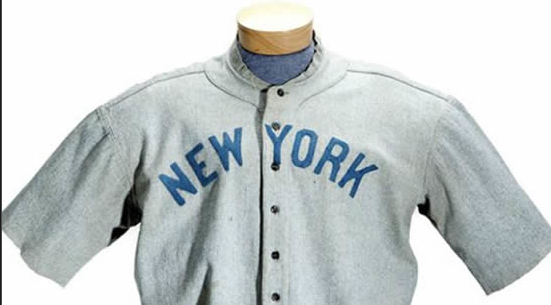 Auction Hits Home Run With Record Setting New York Babe Ruth Jersey
