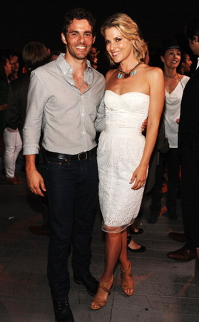 James Marsden and Ali Larter