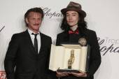 Sean Penn and Ezra Miller