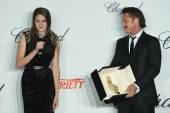Shailene Woodley and Sean Penn