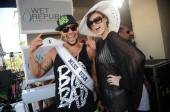 Sky Blu and Miss USA Alyssa Campanella at Wet Republic.