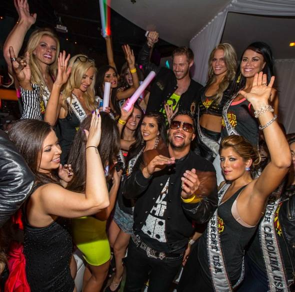 Sky Blu_Miss USA Contestants_PURE Nightclub