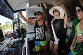 Sky Blu and Miss USA at Wet Republic.