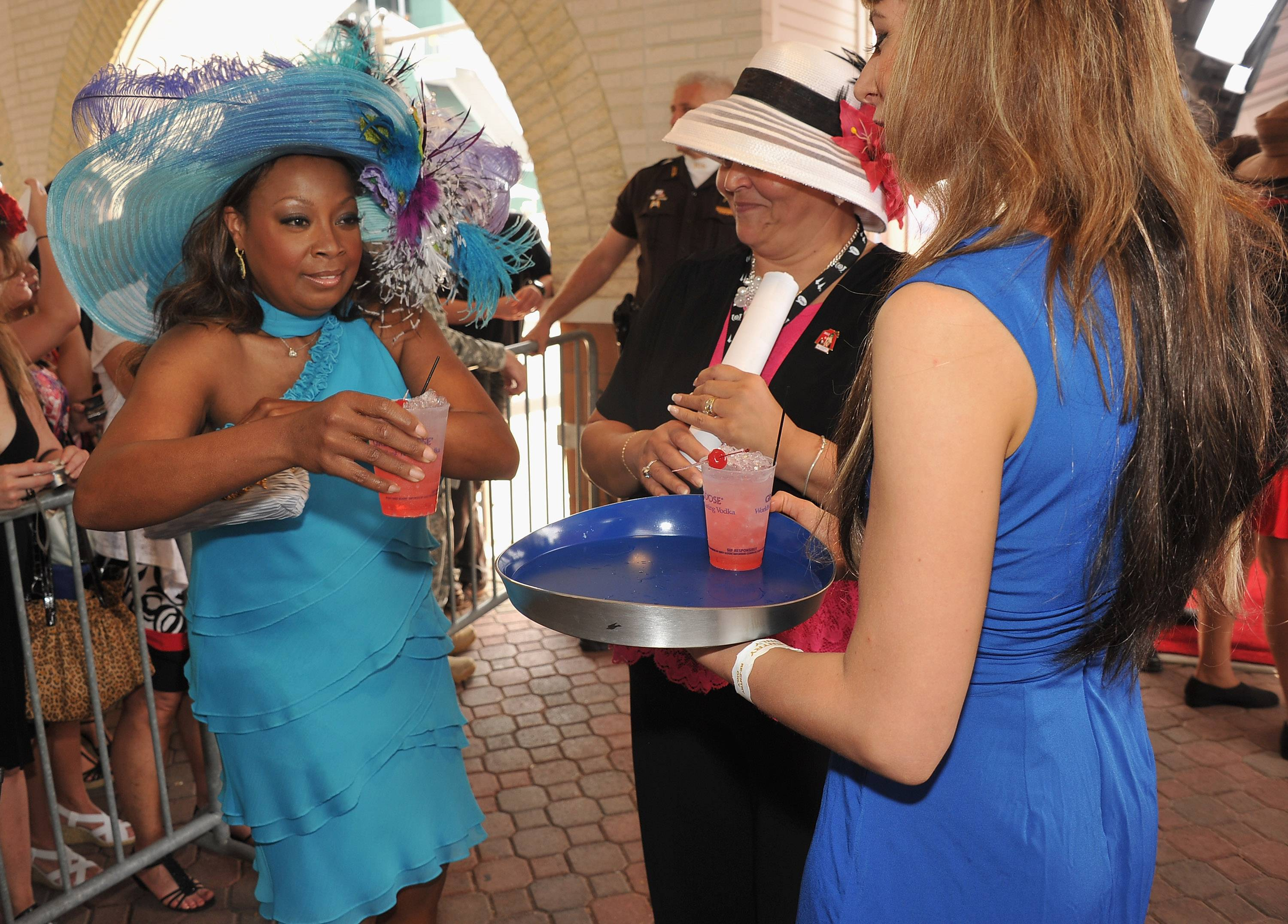 Star Jones at the GREY GOOSE Vodka Lounge at the 138th Running of the Kentucky Derby.