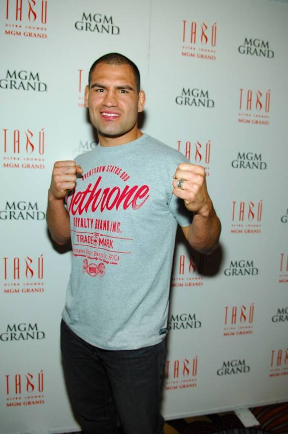 Tabú - Cain Velasquez on Carpet - 5.26.12