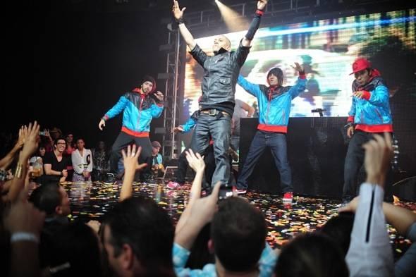 Taboo of Black Eyed Peas performs at Rain Nightclub in Palms Casino Resort