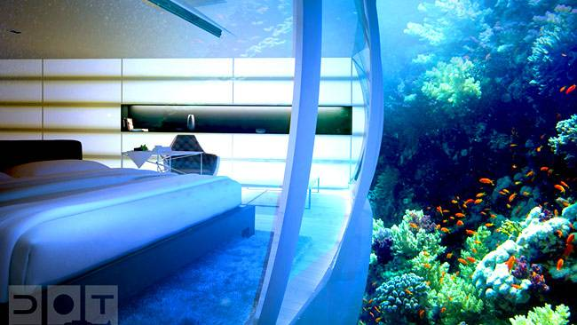 Plans to Build Underwater Hotel in Dubai Announced