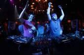 Tiesto and Steve Angello at XS Nightclub.