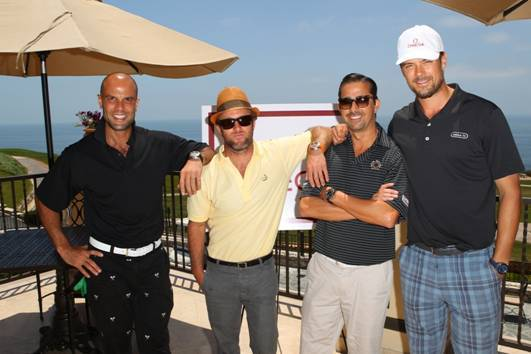 Ian Hunt, Scott Caan, Christian George and Josh Duhamel