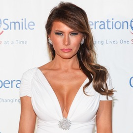 Melania Trump, a Stand-Out at the 2012 Operation Smile Gala at Cipriani Wall Street in New York City