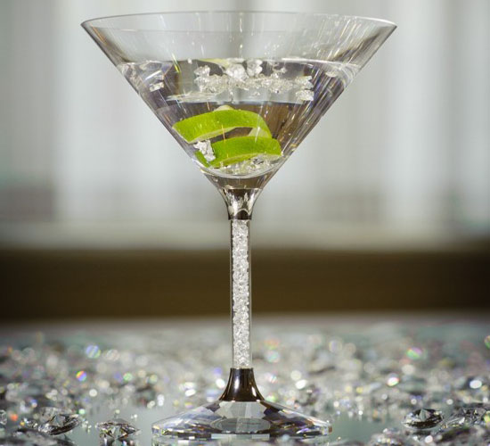 Bling Bling: The Goring Hotel Serves Jubilee Cocktail in Swarovski Cocktail Glass