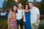 Cindy Chen, Bob Kocher, Adrienne Robert and Bryan Roberts