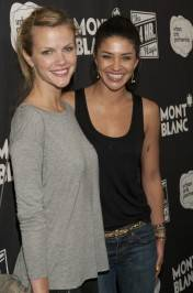 Brooklyn Decker and Jessica Szohr at Montblanc Presents The 24 Hour Plays