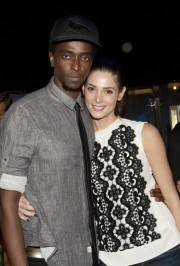 Edi Gathegi and Ashley Greene at Montblanc Presents The 24 Hour Plays