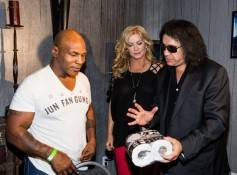 Mike Tyson, Shannon Tweed and Gene Simmons