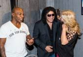 Mike Tyson, Gene Simmons and Shannon Tweed