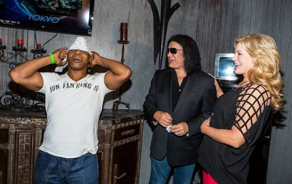 Mike Tyson and Gene Simmons, Shannon Tweed