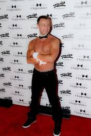 Joey Lawrence joins the Chippendales at the Rio.